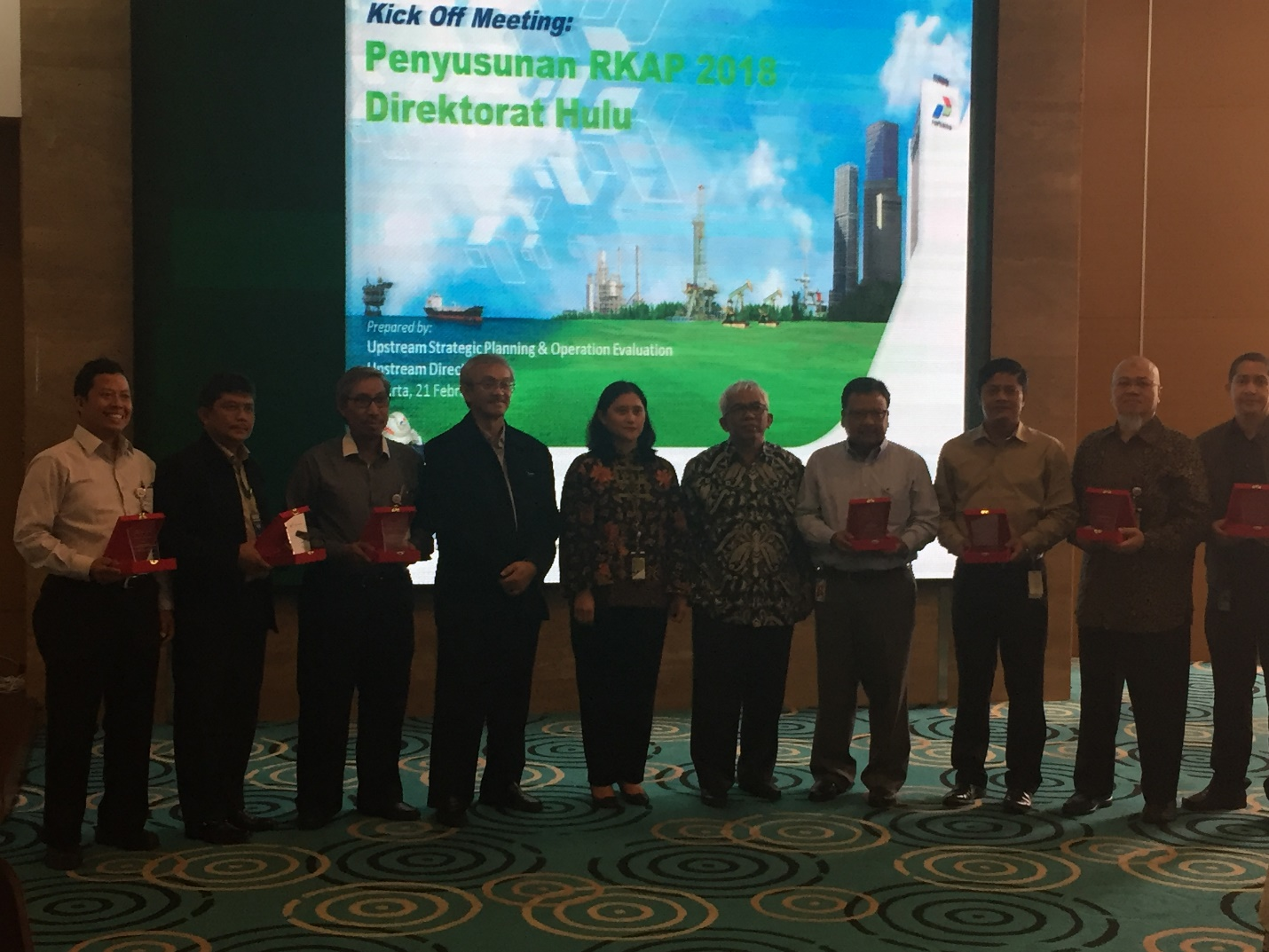 Pertamina Internasional EP Exceeded Target of Breakthrough Project Cost Efficiency