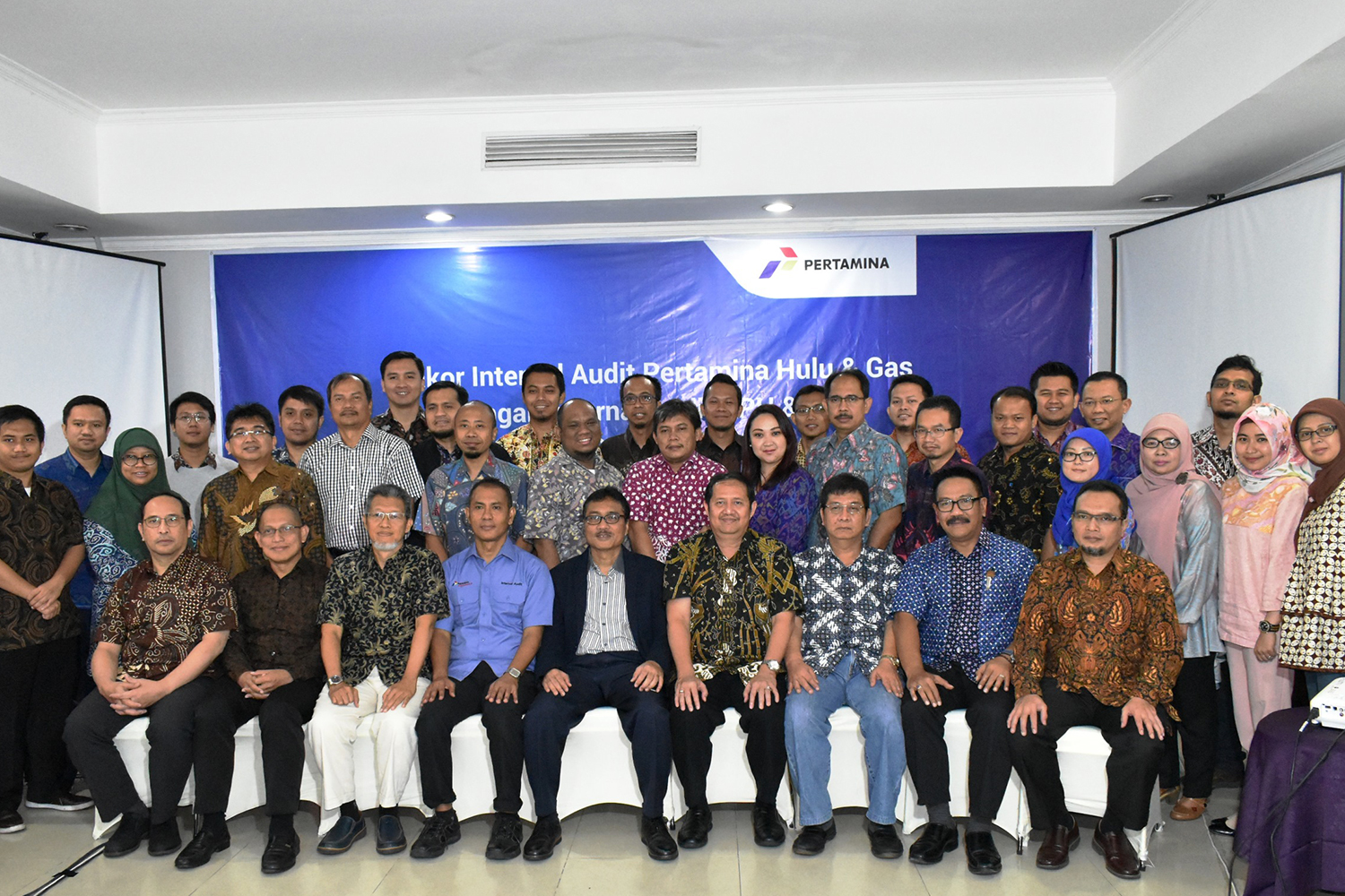 Rapat Koordinasi Upstream, Gas & NRE Internal Audit PT Pertamina (Persero) ke-3 Tahun 2017
